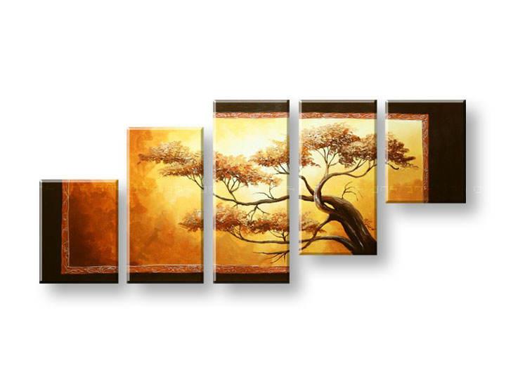 Maľovaný obraz na stenu STROMY FB270E5 (maľované obrazy FABIO)