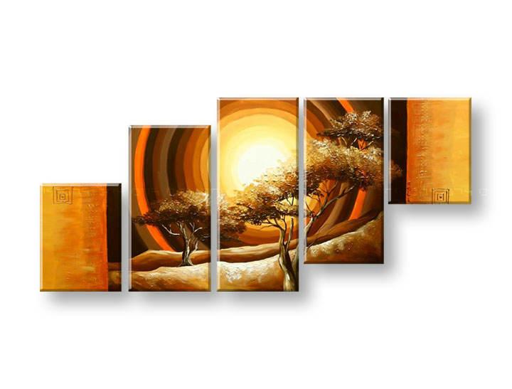 Maľovaný obraz na stenu STROMY FB277E5 (maľované obrazy FABIO)