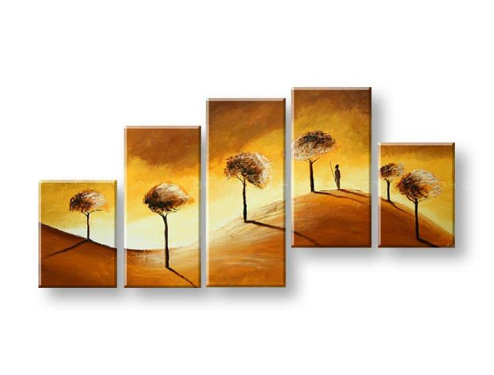 Maľovaný obraz na stenu STROMY FB287E5 (maľované obrazy FABIO)