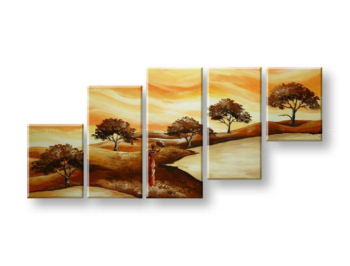 Maľovaný obraz na stenu STROMY FB288E5 (maľované obrazy FABIO)