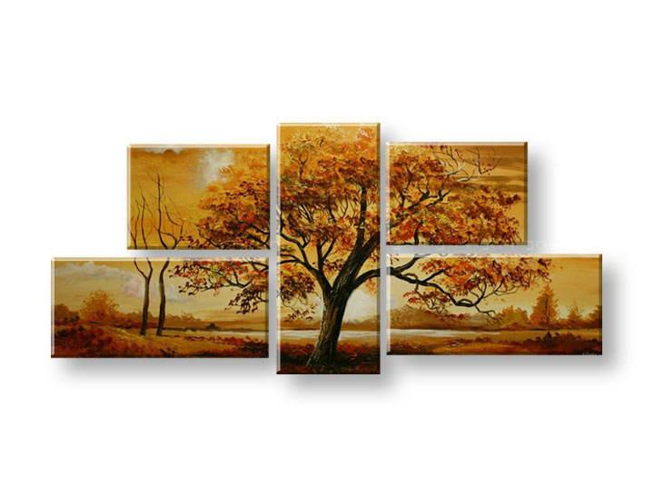 Maľovaný obraz na stenu STROMY FB290E5 (maľované obrazy FABIO)