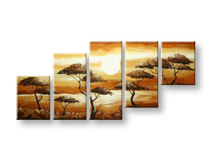 Maľovaný obraz na stenu STROMY FB293E5 (maľované obrazy FABIO)