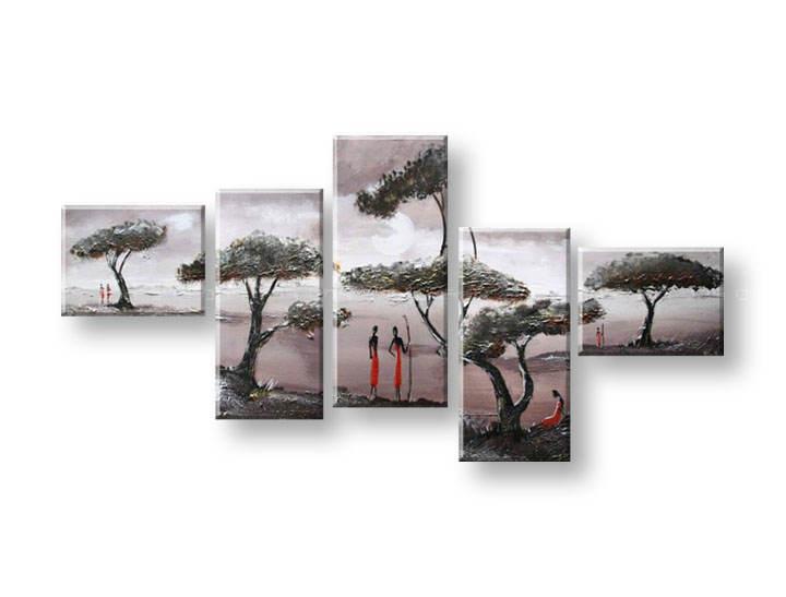 Maľovaný obraz na stenu STROMY FB294E5 (maľované obrazy FABIO)
