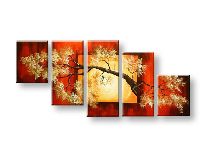 Maľovaný obraz na stenu STROMY FB297E5 (maľované obrazy FABIO)