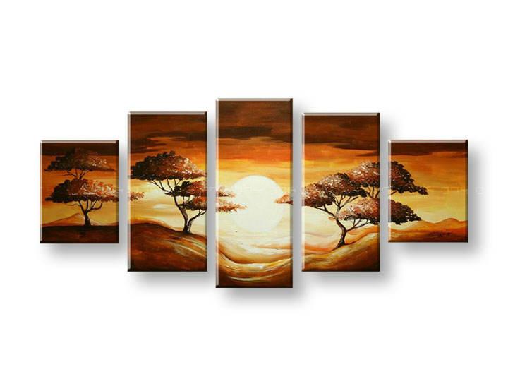 Maľovaný obraz na stenu STROMY FB298E5 (maľované obrazy FABIO)
