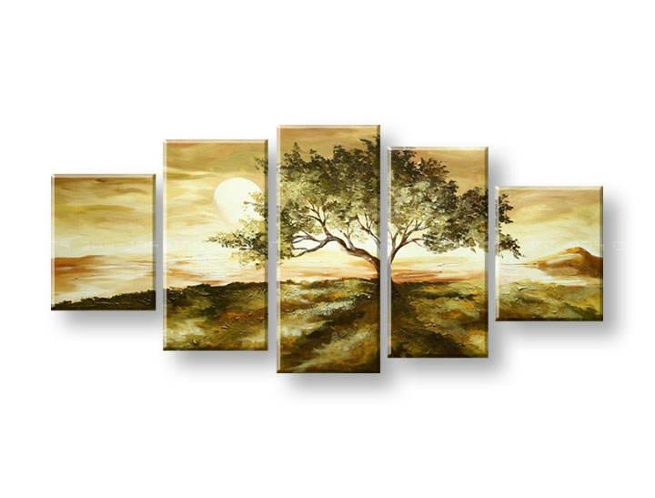 Maľovaný obraz na stenu STROMY FB322E5 (maľované obrazy FABIO)