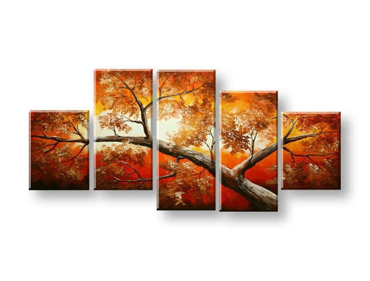Maľovaný obraz na stenu STROMY FB326E5 (maľované obrazy FABIO)