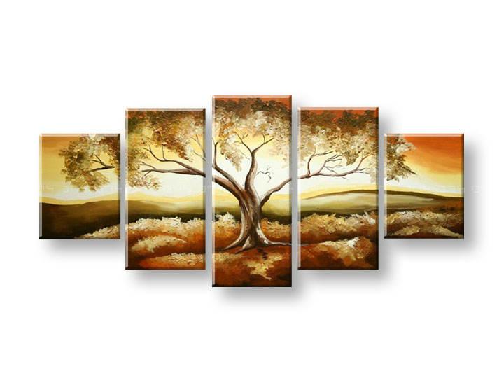 Maľovaný obraz na stenu STROMY FB338E5 (maľované obrazy FABIO)