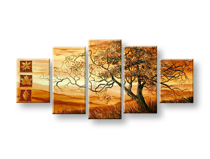 Maľovaný obraz na stenu STROMY FB393E5 (maľované obrazy FABIO)