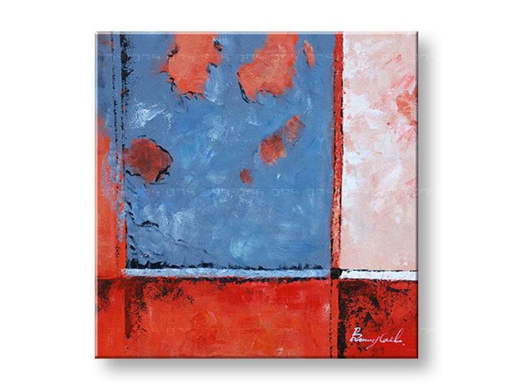 Maľovaný obraz na stenu ABSTRAKT NU0006E1 (maľované obrazy – NUBIO -)