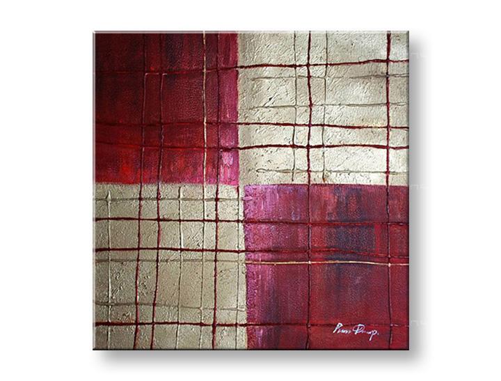 Maľovaný obraz na stenu ABSTRAKT NU0007E1 (maľované obrazy – NUBIO -)