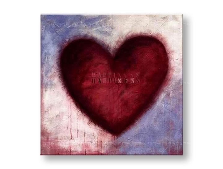 Maľovaný obraz na stenu LOVE NU0009E1 (maľované obrazy – NUBIO -)