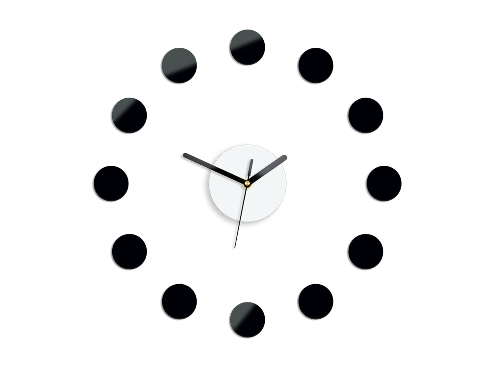 Moderné nástenné hodiny RIO NH009 (nalepovacie hodiny na stenu)