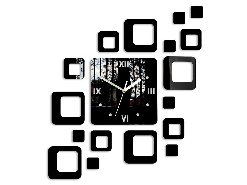 Moderné nástenné hodiny ROMAN NH010 (nalepovacie hodiny na stenu)
