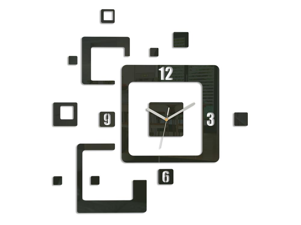 Moderné nástenné hodiny TRIO NH013 (nalepovacie hodiny na stenu)