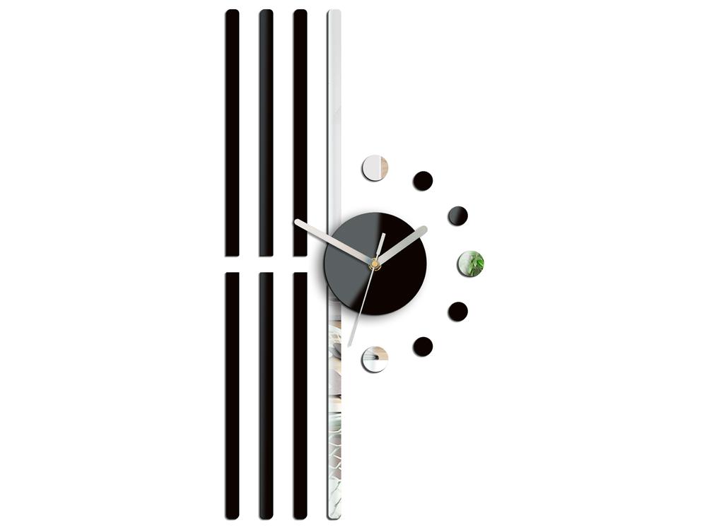 Moderné nástenné hodiny LINE NH020 (nalepovacie hodiny na stenu)