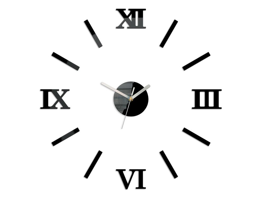 Moderné nástenné hodiny NUMBER NH024 (nalepovacie hodiny na stenu)