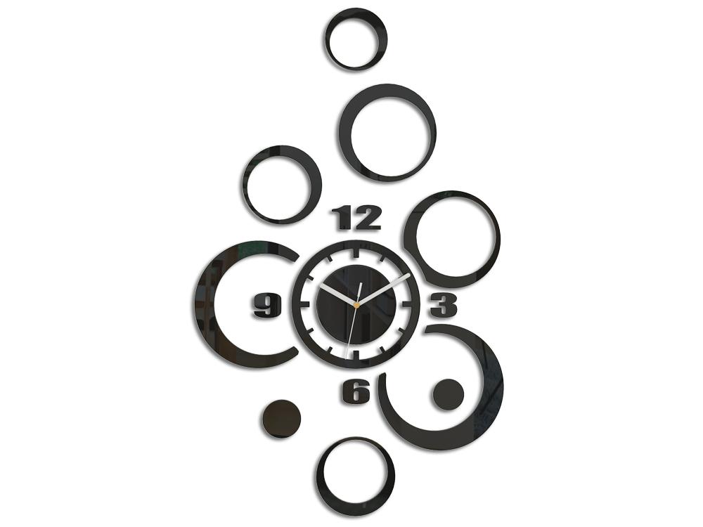 Moderné nástenné hodiny ALLADYN NH027 (nalepovacie hodiny na stenu)
