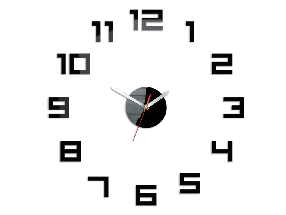 Moderné nástenné hodiny DIGIT NH029 (nalepovacie hodiny na stenu)