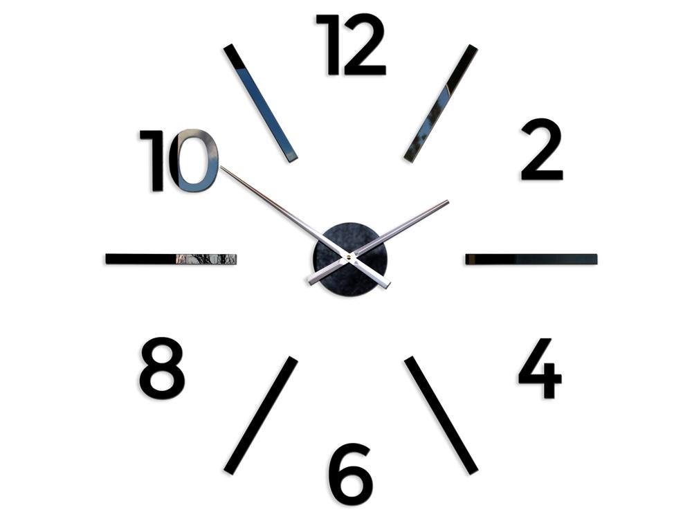 338e271260f Moderné nástenné hodiny AKSEL HMCNH055 (NALEPOVACIE HODINY NA STENU)