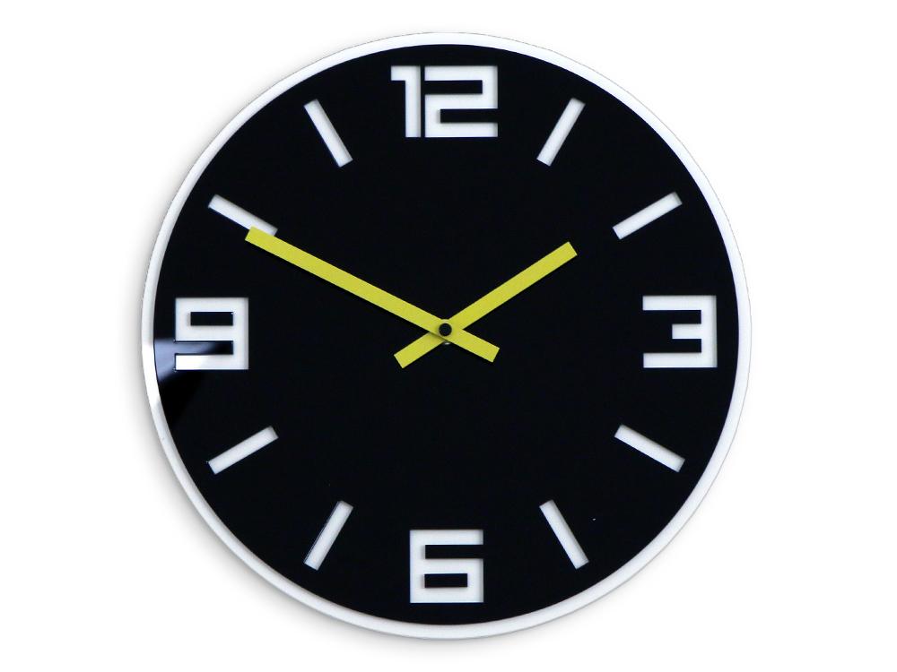 Moderné nástenné hodiny DIXON HMCNH058 (nalepovacie hodiny na stenu)