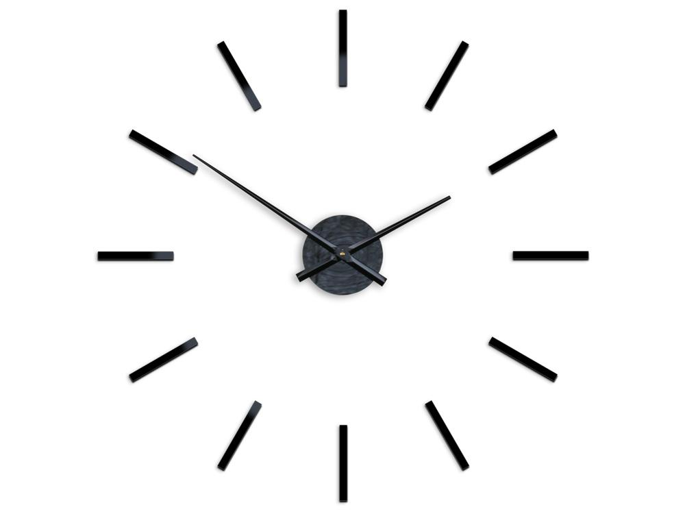 Moderné nástenné hodiny SOLO HMCNH066 (nalepovacie hodiny na stenu)