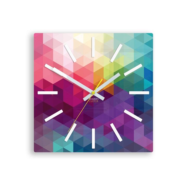 Moderné nástenné hodiny EXPRESSIO HMCNH071 (nalepovacie hodiny na stenu)