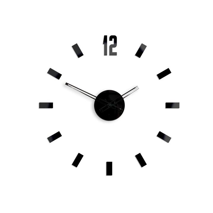 Moderné nástenné hodiny POINT HMCNH072 (nalepovacie hodiny na stenu)