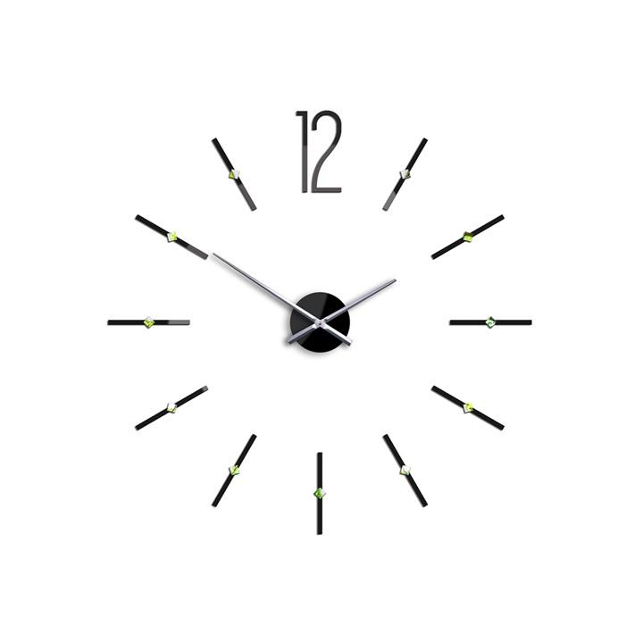 Moderné nástenné hodiny SOFIA XXL HMCNH074 (nalepovacie hodiny na stenu)