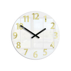 68105e838a9 Moderné nástenné hodiny KARDA HMCNH075 empty