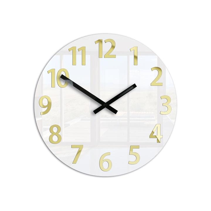 Moderné nástenné hodiny KARDA HMCNH075 (nalepovacie hodiny na stenu)