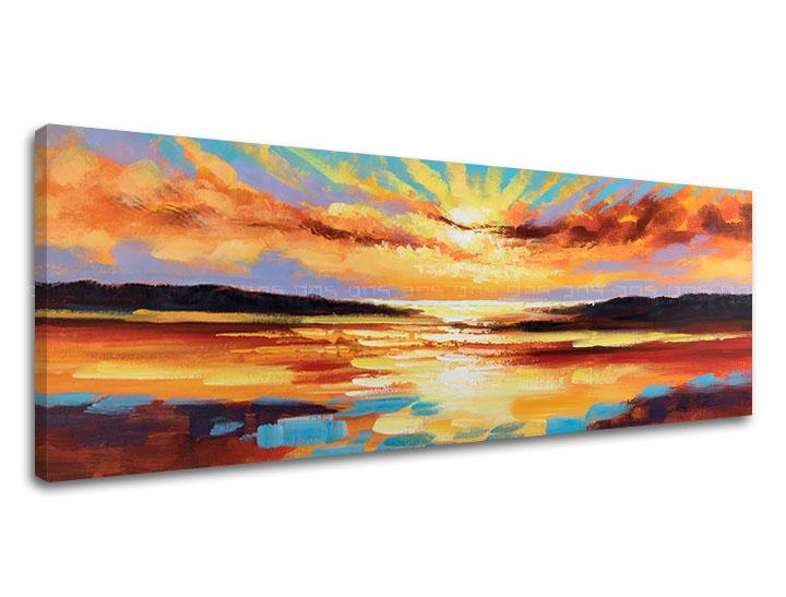 Obraz na plátne ZÁPAD SLNKA 1 dielny XOBCHSS008 (Kolekcia obrazov LIPA)