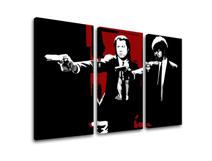 Tlačený POP Art obraz Pulp Fiction 3 dielny pulp5 (pop art obrazy)