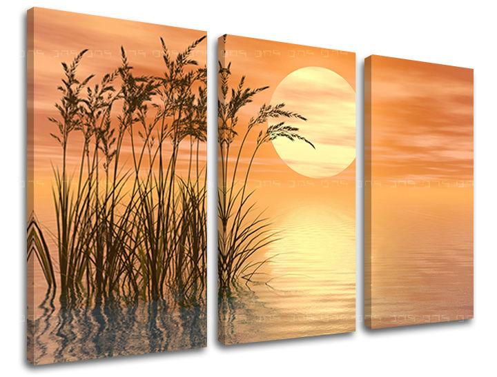 Obraz na stenu 3 dielny ABSTRAKT AB094E30 (obraz na plátne)