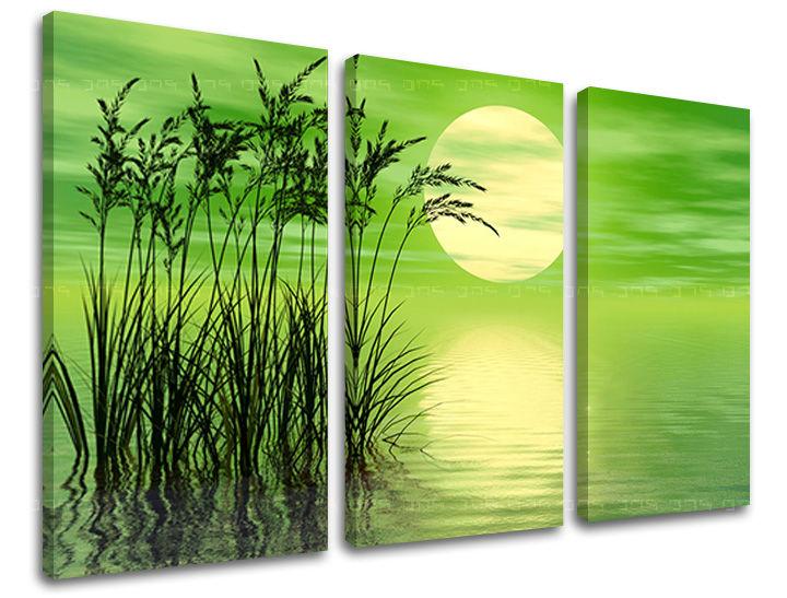 Obraz na stenu 3 dielny ABSTRAKT AB119E30 (obraz na plátne)