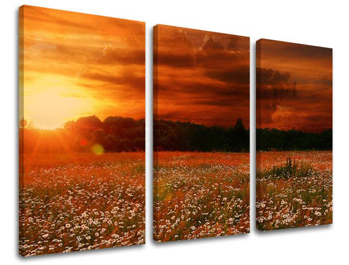 Obraz na stenu 3 dielny KRAJINA KR035E30 (obraz na plátne)