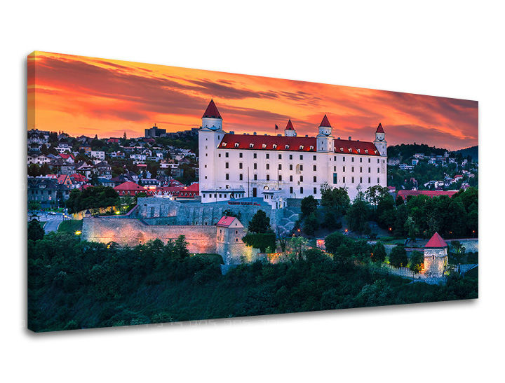 Obraz na stenu PANORÁMA SLOVENSKO SK009E13 (moderné obrazy na stenu)