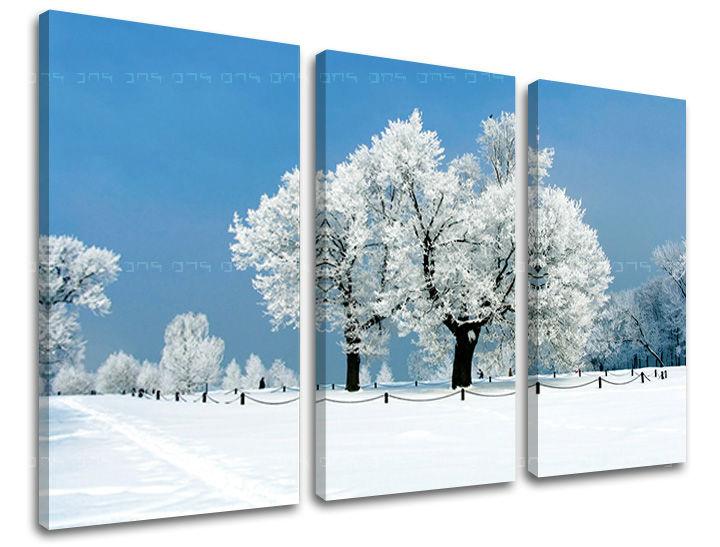 Obraz na stenu 3 dielny STROMY ST028E30 (obraz na plátne)