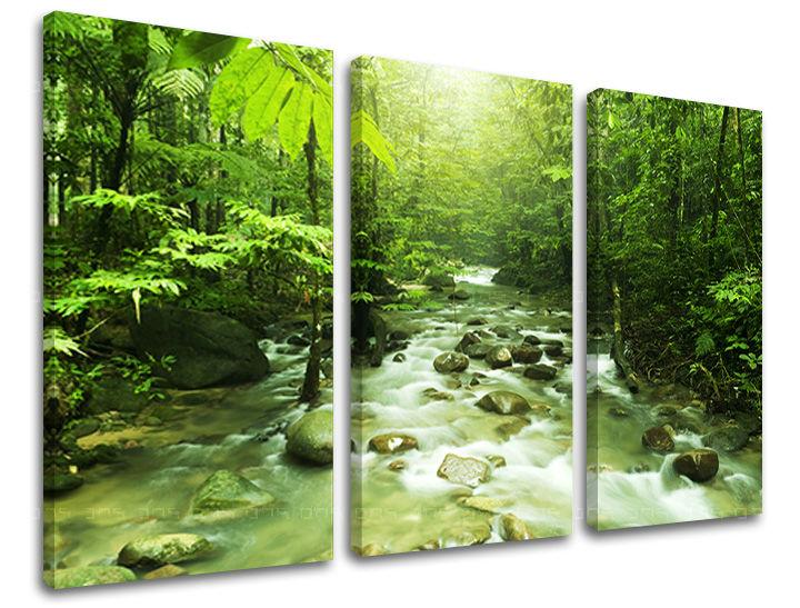 Obraz na stenu 3 dielny STROMY ST034E30 (obraz na plátne)
