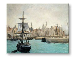 Obraz na plátne THE PORT OF CALAIS – Édouard Manet    REP066