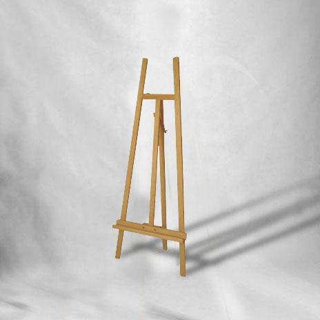 Dekoračný stojan na obraz ACADEMY Natural SZ2-natural (stojany na obrazy)